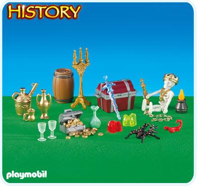 Playmobil 6301 - grand trésor pirate - Boîte