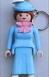 Playmobil - 7623 - Lady Keychain