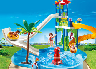 Playmobil - 6669 - water park with slide tower