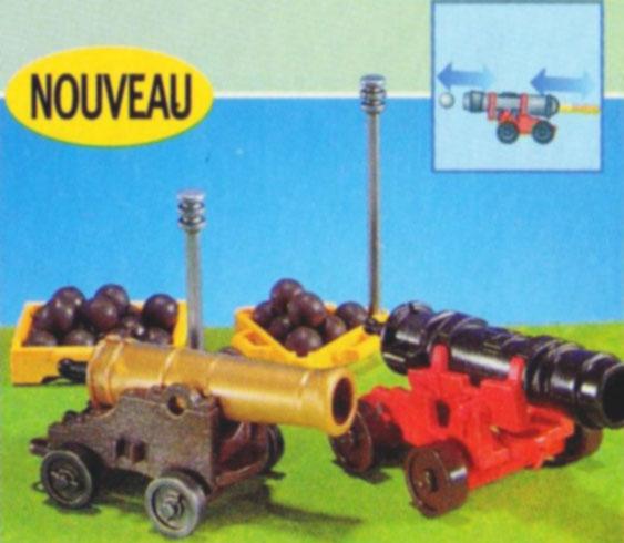 Playmobil 7110 - 2 cannons - Box