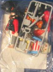Playmobil 7228 - 3 pirates - Back