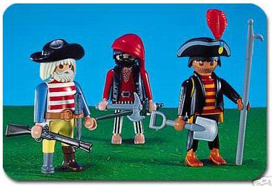 Playmobil 7228 - 3 pirates - Box