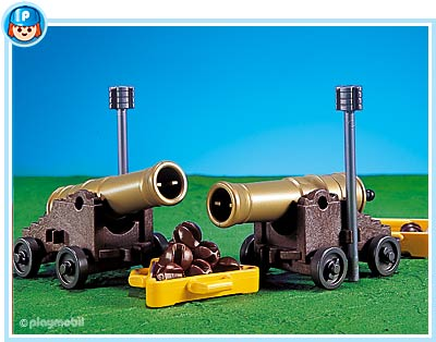 Playmobil 7335 - 2 cannons for pirate ship - Box