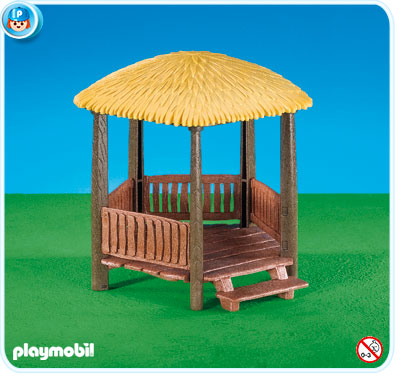 Playmobil 7436 - look-out hut - Box