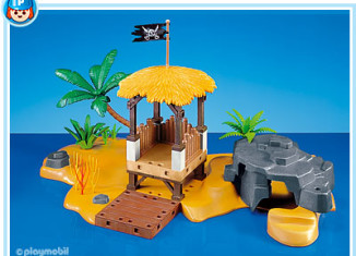 Playmobil - 7718 - pirate hideout