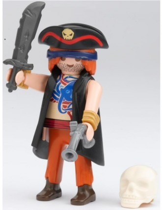 Playmobil 80512-ger - magazine nr. 12 / pirate figure - Back