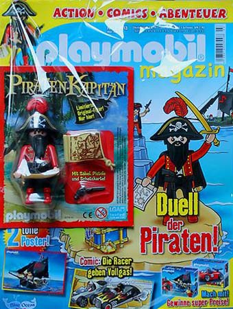 Playmobil 80531-ger - magazine nr. 22 / pirate figur - Back