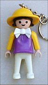 Playmobil - 30793230 - Purple  girl with yellow hat