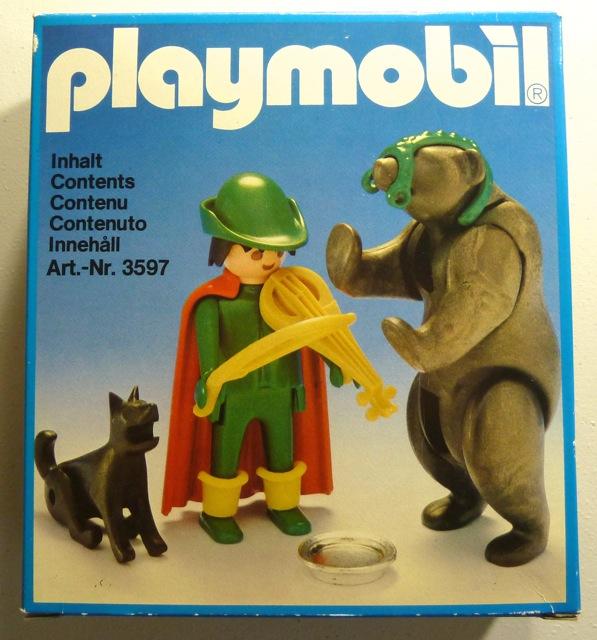 Playmobil 3567v1 - Tamer with Bear - Box