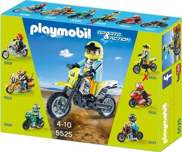 Playmobil 5525 - Cross Bike - Box