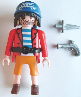 Playmobil 0000v1-ger - Pirate - Nordsee - Back