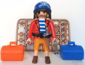 Playmobil 0000v1-ger - Pirate - Nordsee - Box