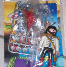 Playmobil - 0000v2-ger - Pirate captain - Nordsee