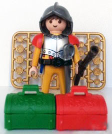 Playmobil 0000v3-ger -  Spanish soldier - Nordsee - Box