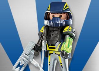 Playmobil - 5537v8 - Galactic warrior