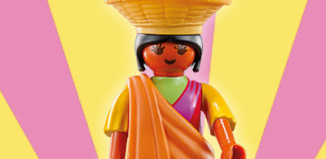 Playmobil - 5461v3 - Indian with Fruit Bowl