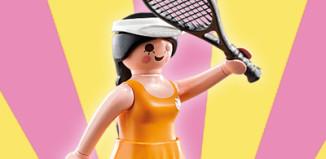 Playmobil - 5461v5 - Yellow tennis player