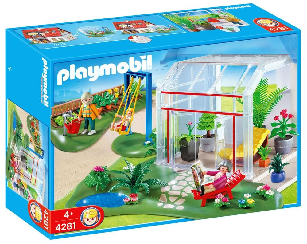 Playmobil 4281 - Conservatory - Box