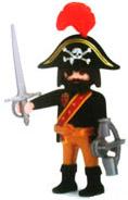 Playmobil 0000v5 - Quick Magic Box Give-away Pirate 05 - Back