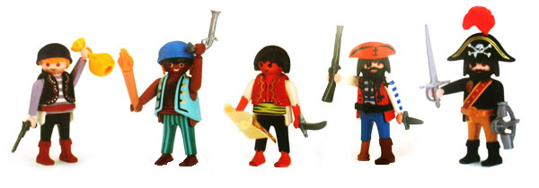 Playmobil 0000v1 - Quick Magic Box Give-away Pirate 01 - Box