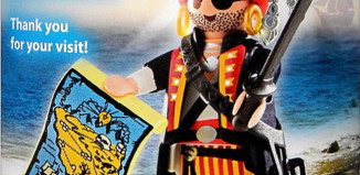Playmobil - 30793863-ger - Nüremberg Toy Tair Tive-away Pirate