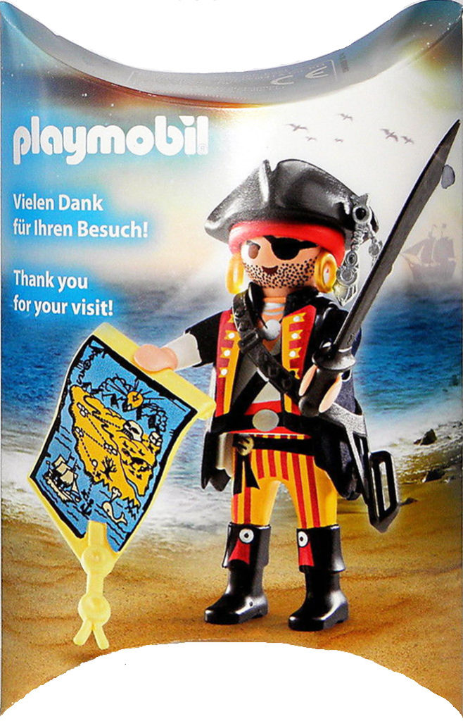 Playmobil 30793863-ger - Nüremberg Toy Tair Tive-away Pirate - Box