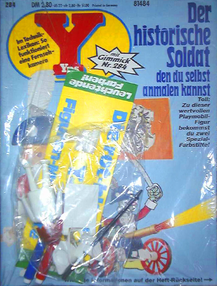 Playmobil 0000v1-ger - yps magazine nr. 284 give-away soldier - Box