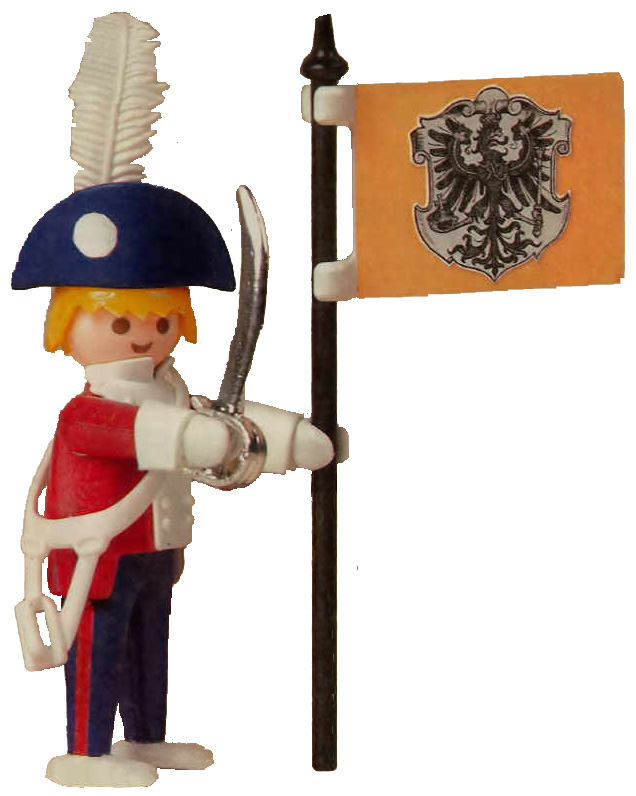 Playmobil 0000v1-ger - yps magazine nr. 284 give-away soldier - Back