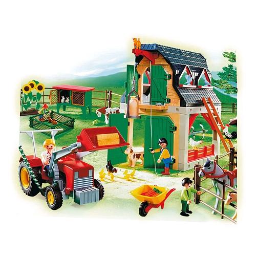 playmobil farm house instructions