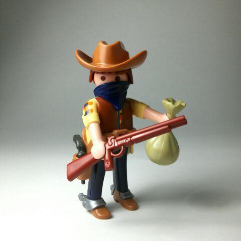 Playmobil R003-30792593-esp - Cowboy - Back