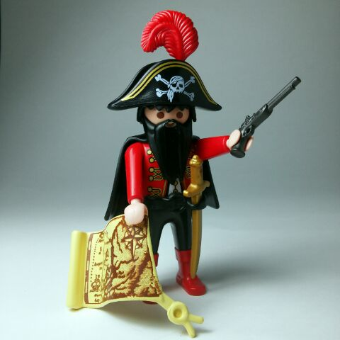 Playmobil R001-30792493-esp - Pirate - Back