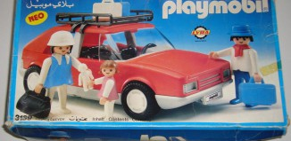 Playmobil - 3139v1-lyr - Red Family Car