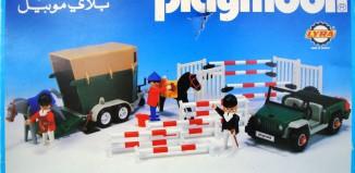 Playmobil - 3140-lyr - Jeep & van à chevaux