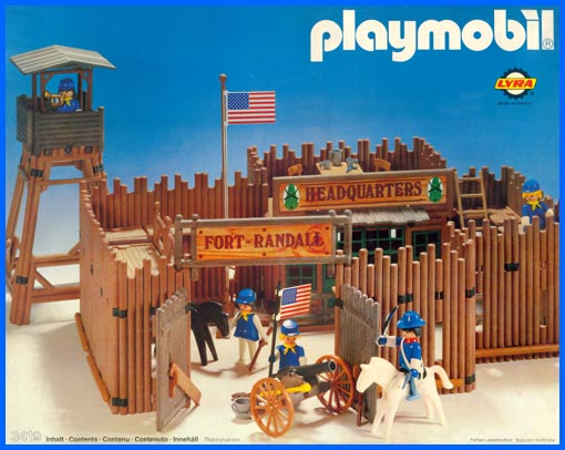 Playmobil set 3419 lyr fort randall klickypedia for Plan chateau fort playmobil