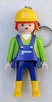 Playmobil - 87854 - Worker with yellow helmet