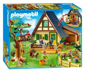Playmobil 4207 - Forest Lodge - Box
