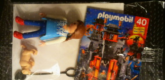 Playmobil - 0000 - Woman with a dog - free promotional