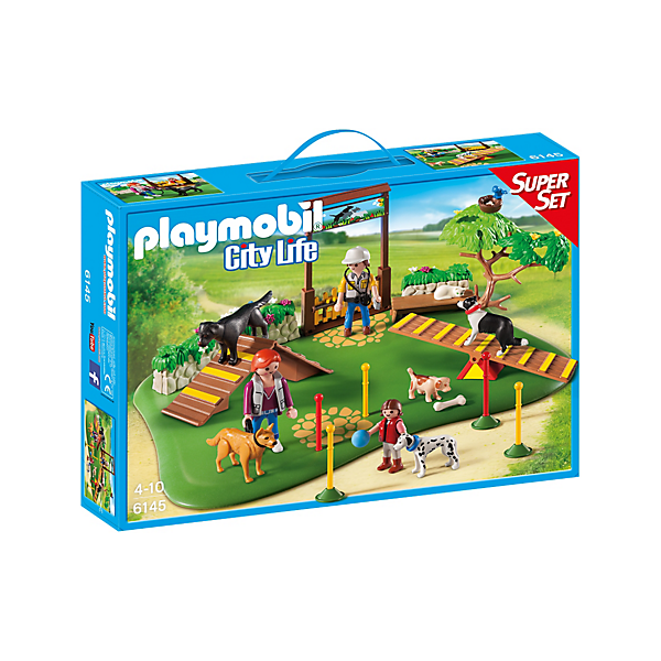 Playmobil 6145 - Superset Dog Training - Box