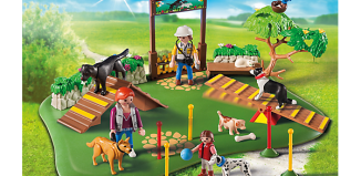 Playmobil - 6145 - Superset Training des chiens