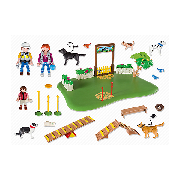Playmobil 6145 - Superset Dog Training - Back