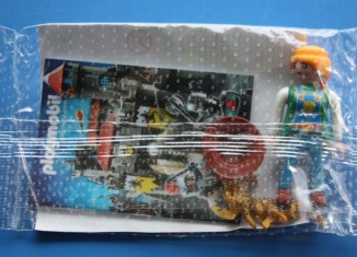 Playmobil - 0000 - Zoo-keeper with two little cheetah - free promotional