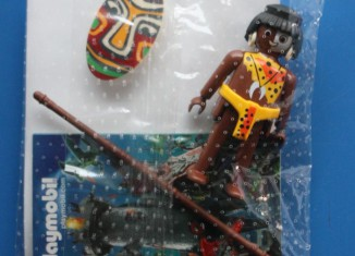 Playmobil - 0000 - Tribal warrior - Free promotional