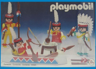 Playmobil - 23.79.8-trol - 4 Indians