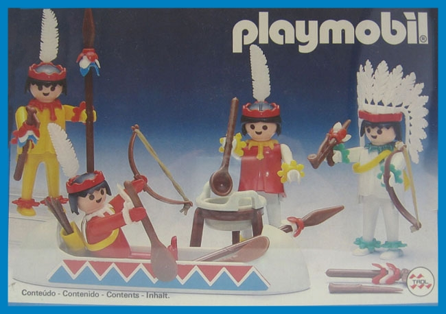 Playmobil 23.79.8-trol - 4 Indians - Box