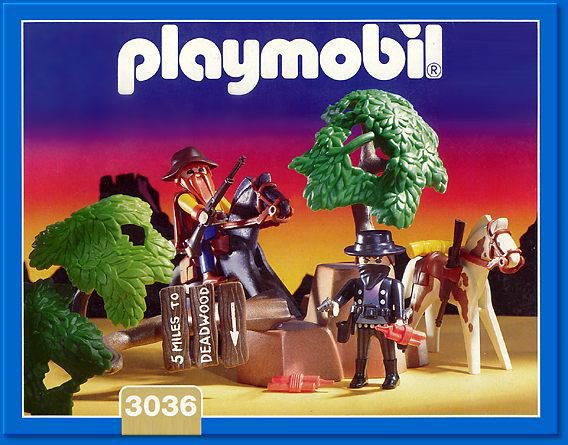Playmobil 3036 - Bandit Ambush - Box