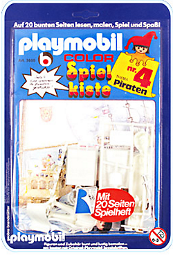 Playmobil 3655s1 - Toy-box No. 4 - Pirates - Box