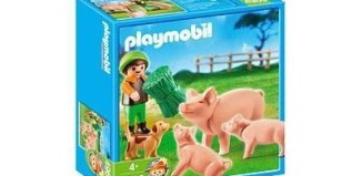 Playmobil - 4969 - Boy Feeding Pigs