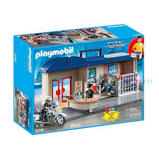 Playmobil 5299-ger - Take Along Police Station - Box