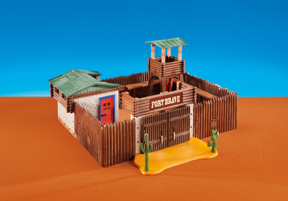Playmobil Set 6427 Large Western Fort Klickypedia