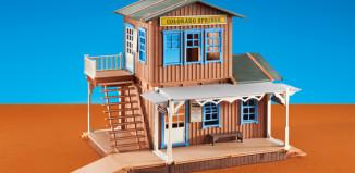 Playmobil - 6462 - Western Station